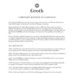 Groth History